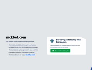 nickbet.com screenshot