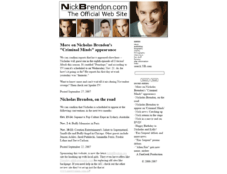 nickbrendon.com screenshot