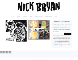 nickbryan.com screenshot