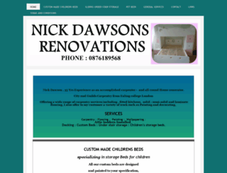 nickdawsons-renovations.com screenshot