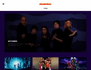 nickelodeon.nl screenshot