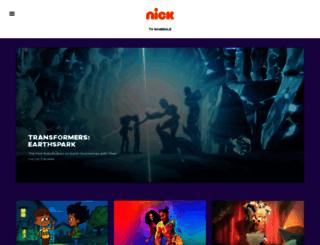 nickelodeonafrica.com screenshot