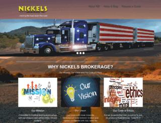 nickelsbrokerageinc.net screenshot
