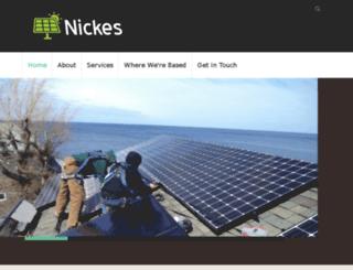 nickes.org screenshot