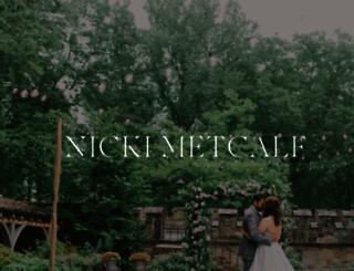 nickimetcalfphotography.com screenshot