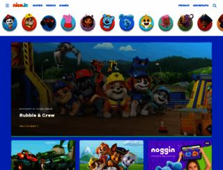nickjr.com screenshot