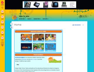 nickjr.wikia.com screenshot