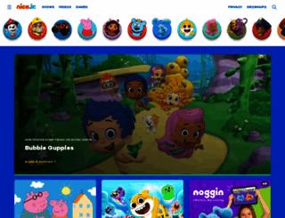nickjrboost.com screenshot