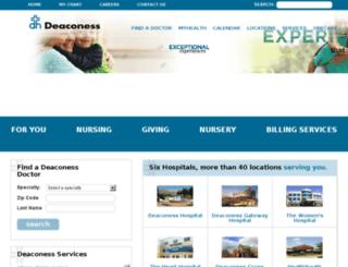 nico.deaconess.com screenshot