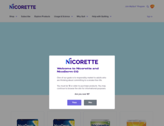 nicodermcq.com screenshot