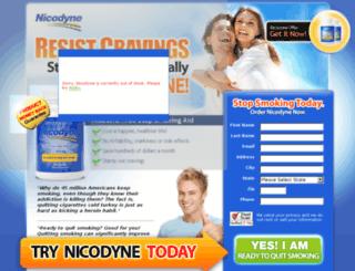 nicodynedirect.com screenshot
