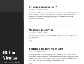 nicolas.perriault.net screenshot