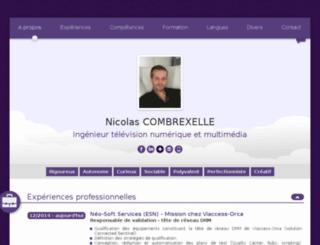 nicolascombrexelle.com screenshot