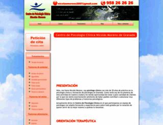 nicolasmorenopsicologo.com screenshot