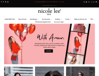 nicoleleeonline.com screenshot