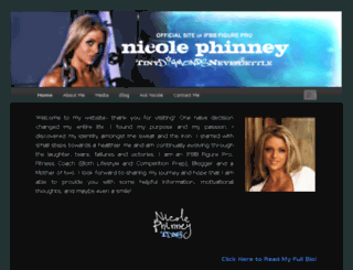 nicolephinney.com screenshot