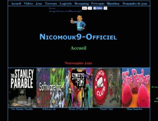nicomouk9.livehost.fr screenshot