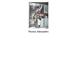 nicotraalessandro.com screenshot