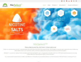 nicselect.com screenshot
