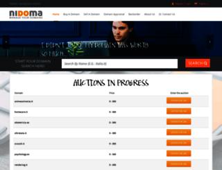 nidoma.com screenshot
