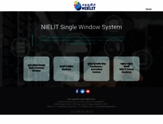 nielit.gov.in screenshot