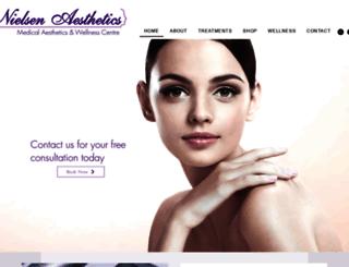nielsenaesthetics.com screenshot