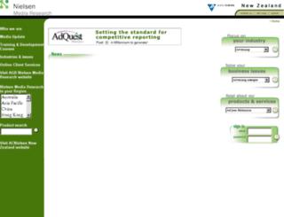 nielsenmedia.co.nz screenshot