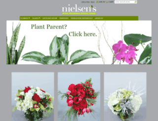 nielsensflorist.net screenshot