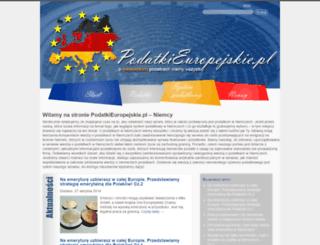 niemcy.podatkieuropejskie.pl screenshot