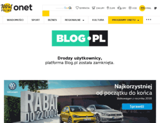 nienazarty.blog.pl screenshot