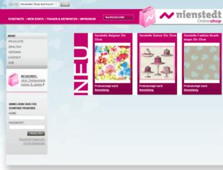 nienstedt-shop.de screenshot