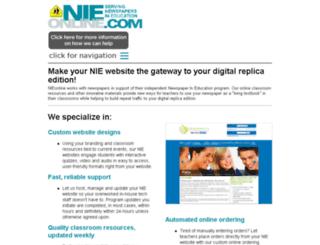 nieonline.clickforward.com screenshot