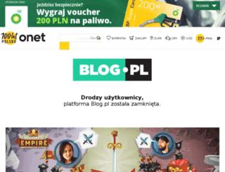 niepamietam.blog.pl screenshot