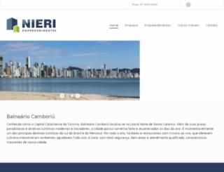 nieriempreendimentos.com.br screenshot