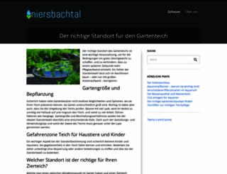 niersbachtal.de screenshot