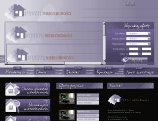 nieruchomosci-ap.pl screenshot