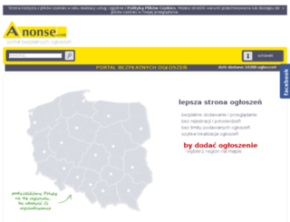 nieruchomosci.anonse.pl screenshot