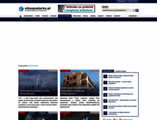 nieruchomosci.egospodarka.pl screenshot