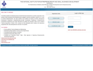 niesbudtraining.org screenshot
