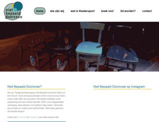 nietbepaalddoorsnee.nl screenshot