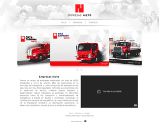 nieto.com.mx screenshot
