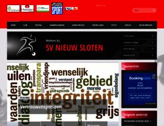 nieuw-sloten.nl screenshot