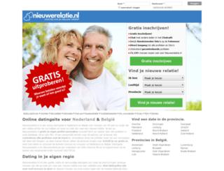 nieuwerelatie.com screenshot