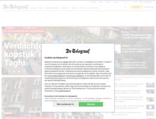 nieuwsbrief.telegraaf.nl screenshot