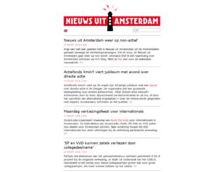 nieuwsuitamsterdam.nl screenshot