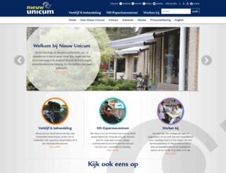 nieuwunicum.nl screenshot
