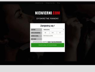 niewierni.com screenshot