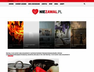 niezawal.pl screenshot