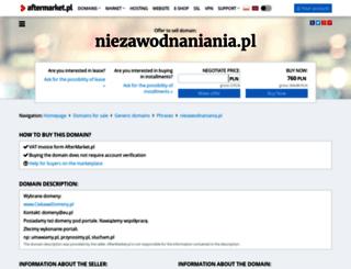 niezawodnaniania.pl screenshot