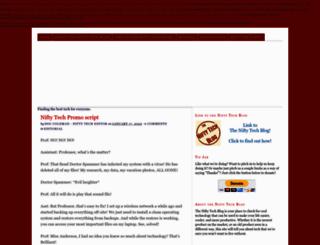 niftytechblog.com screenshot